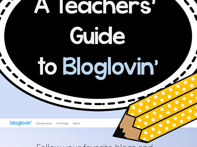 Teachers' Guide to Bloglovin'